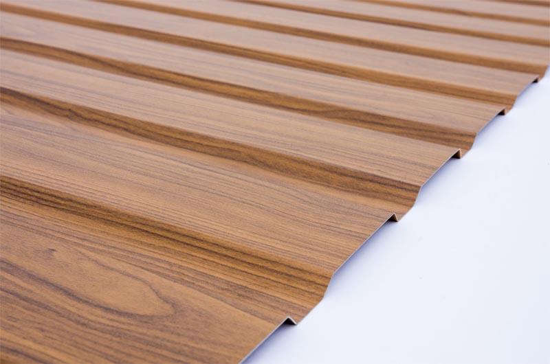 blacha trapezowa drewnopodobna